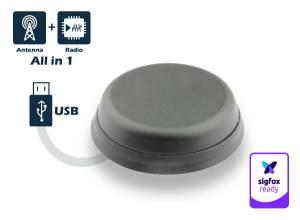 Sigfox Neomni Smart Connect S-RC1 avec adaptateur USB - Antenne digitale Sigfox (Outdoor & Smart)