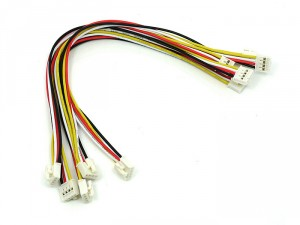 Grove - Universal 4 Pin Buckled 20cm Cable (5 PCs pack)