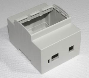 DIN rail 4M mounting Enclosure for Arduino UNO or LEONARDO