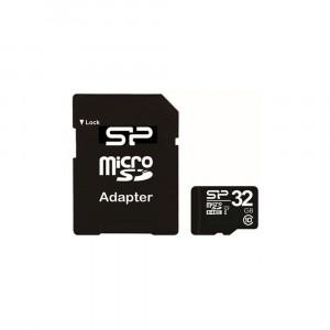 Carte mémoire Silicon Power Micro-SD Classe 10 32Go - SP032GBSTH010V10SP