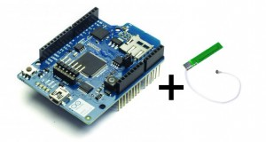 Kit Arduino Wifi Shield + PCB Antenna