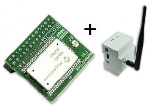 Kit Carte de communication LoraWan pour Raspberry Pi avec Boitier DIN