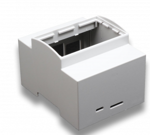 DIN rail 4M mounting Enclosure for Raspberry Pi B+ / Pi 2 / Pi 3 / Pi3 B+