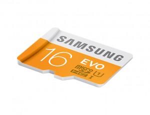Memoire Samsung EVO+ 16Go microSDHC