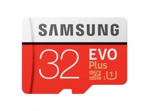 Memoire Samsung EVO+ 32Go microSDHC avec Adapter SD