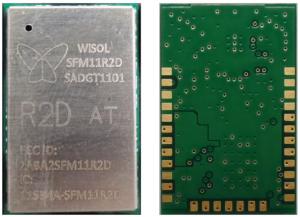 Pack 10 Modules Wisol SFM11R2D pour le réseau Sigfox