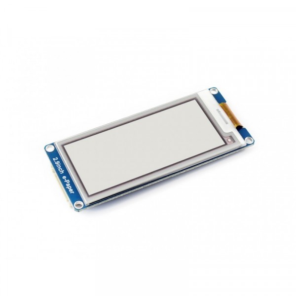 296x128, 2.9 inch E-Ink display module, three-color