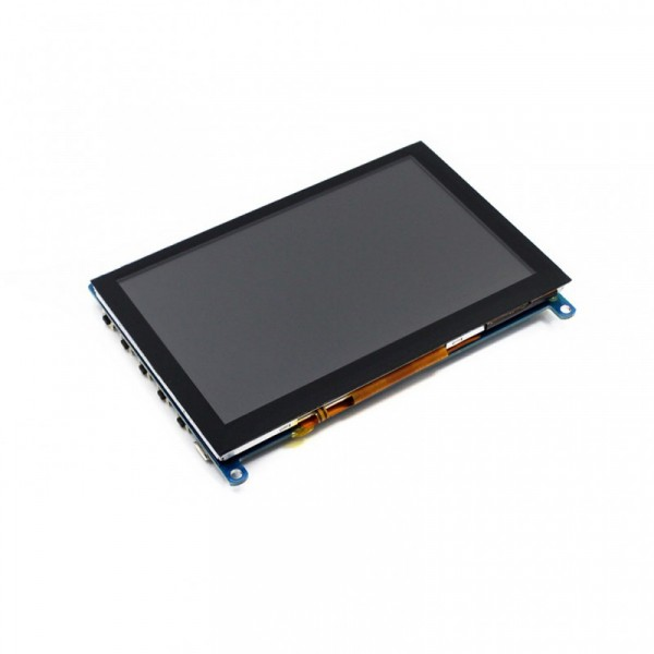 5inch HDMI LCD 800 × 480 Touch Screen, Capacitive