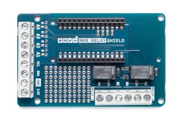 Relay Proto shield for Arduino MKR - TSX00003