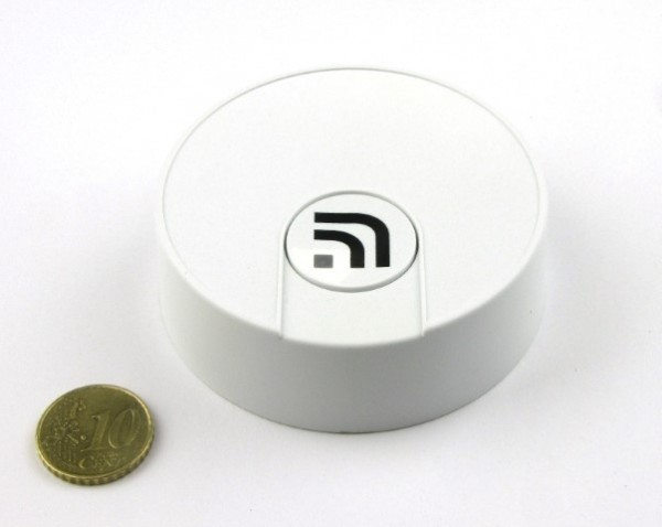 Sigfox connected Round Button IIOT