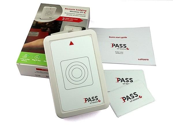 Sigfox Ealloora Pass Remote RFID Badging (Box content)
