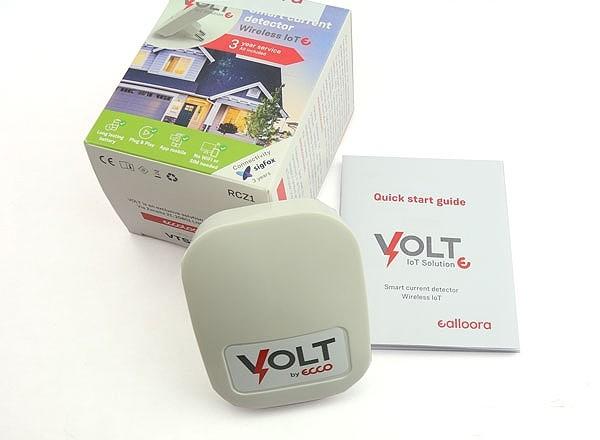 Détecteur de courant Sigfox Ealloora Volt (contenu de la boite)