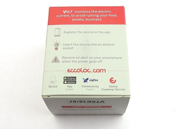 Détecteur de courant Sigfox Ealloora Volt (boîte)
