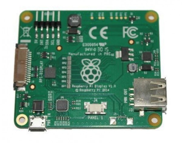 "7 ""LCD touch screen Raspberry Pi Official, 800x480, Capacitive"