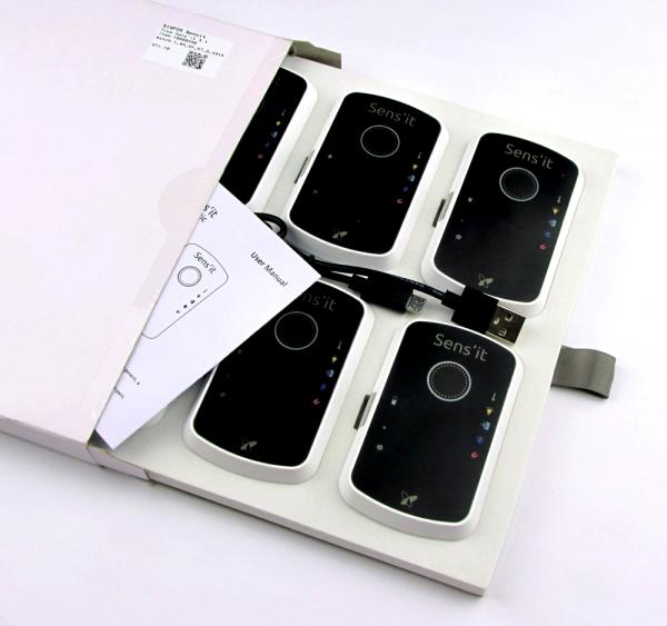 Sigfox Pack de 10 Sens'it Génériques