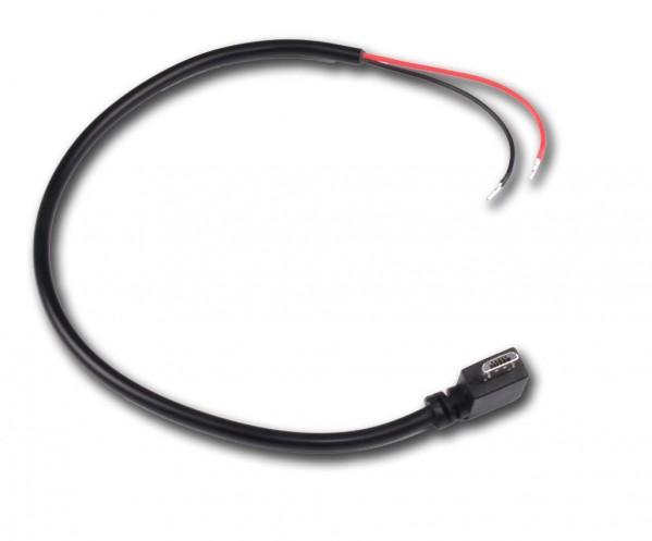 Câble alimentation Micro USB coudé
