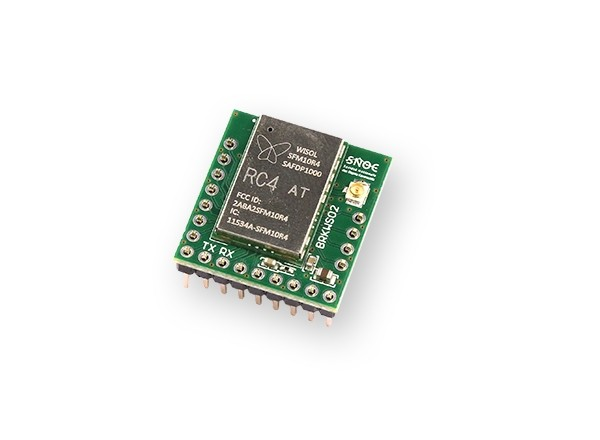 Sigfox Breakout board BRKWS02 RC4 prototyping