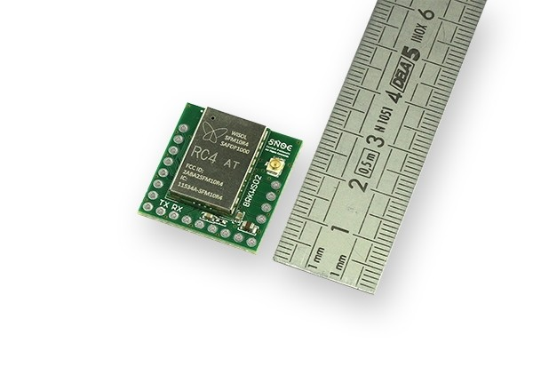 Sigfox Breakout board BRKWS02 RC4 length