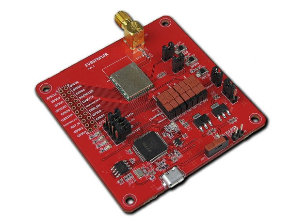 Evaluation Kit for the Wisol SFM10R1 module Sigfox (EVBSFM10R1)