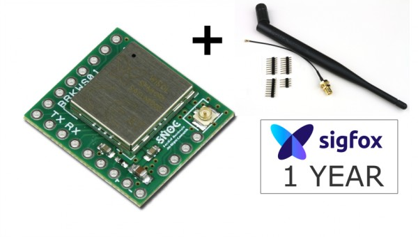 Kit Sigfox Breakout board BRKWS01 + Antenna