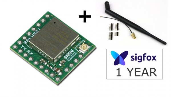 Sigfox Developpment Kit - SDR Dongle + Breakout Wisol BRKWS01