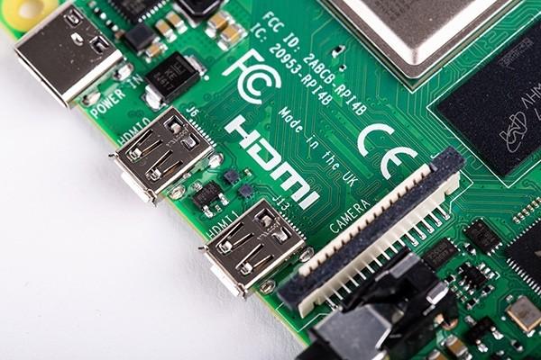 New Raspberry PI 4 Model B - 4Gb (Mini HDMI)