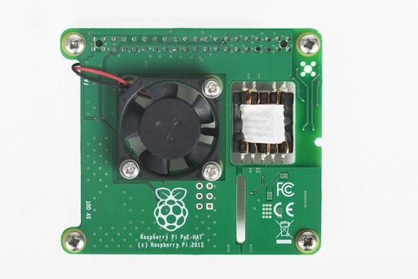 Raspberry Pi Power Over Ethernet (PoE) Hat