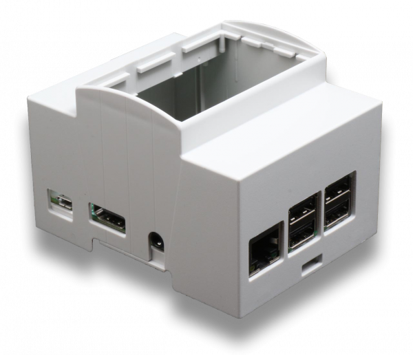 Din Rail 4m Mounting Enclosure For Raspberry Pi