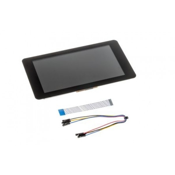 """7 """"LCD touch screen Raspberry Pi Official, 800x480, Capacitive"""