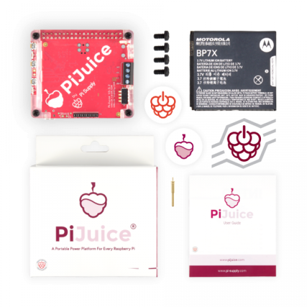 PiJuice HAT - A portable Power Platform for Raspberry Pi!