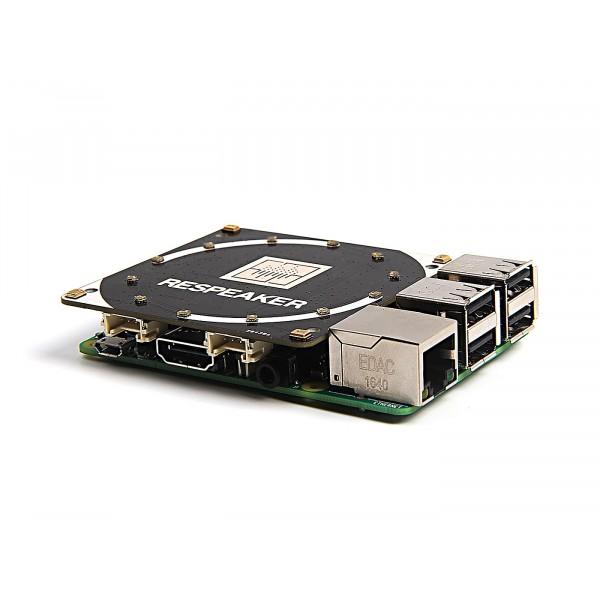 ReSpeaker 4-Mic Array for Raspberry Pi