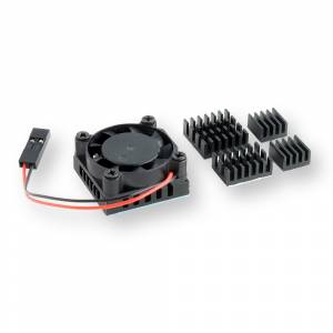 Raspberry Pi 4 heat sinks kit with fan
