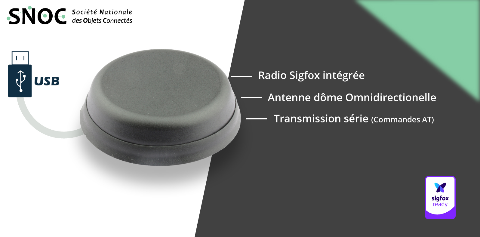 yadom present the all-in-1 active antenna Neomni Smart Connect