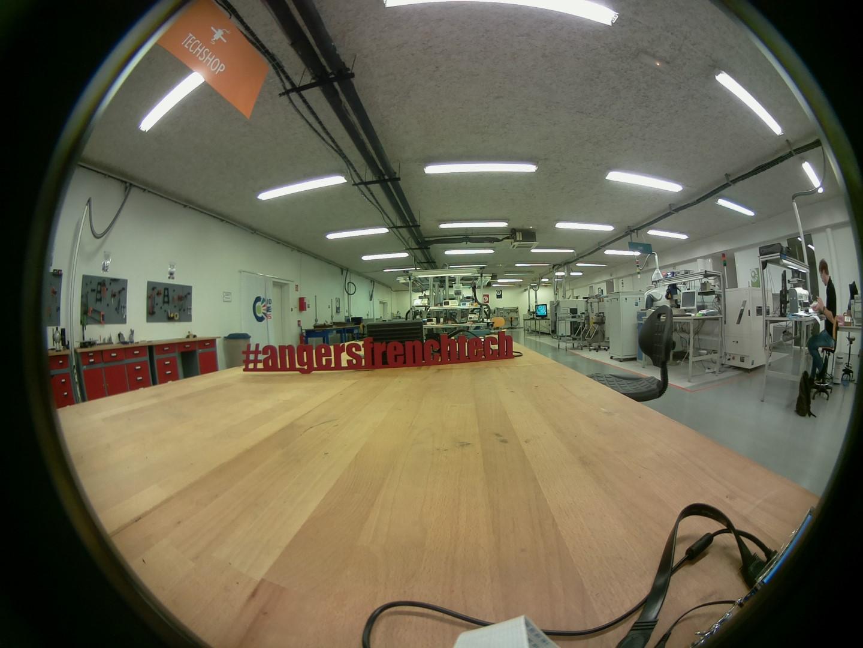 Image caméra 170° raspberry Pi